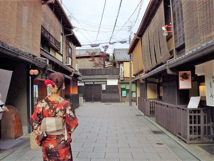 浴衣で京都散策