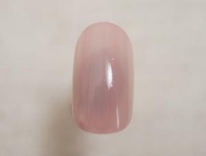 ホワイトシェルで作るフェミニン桜ネイル