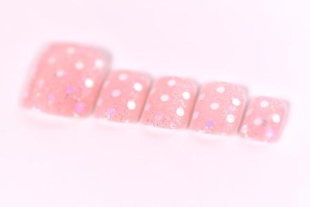 ピンク×ホログラムアップ